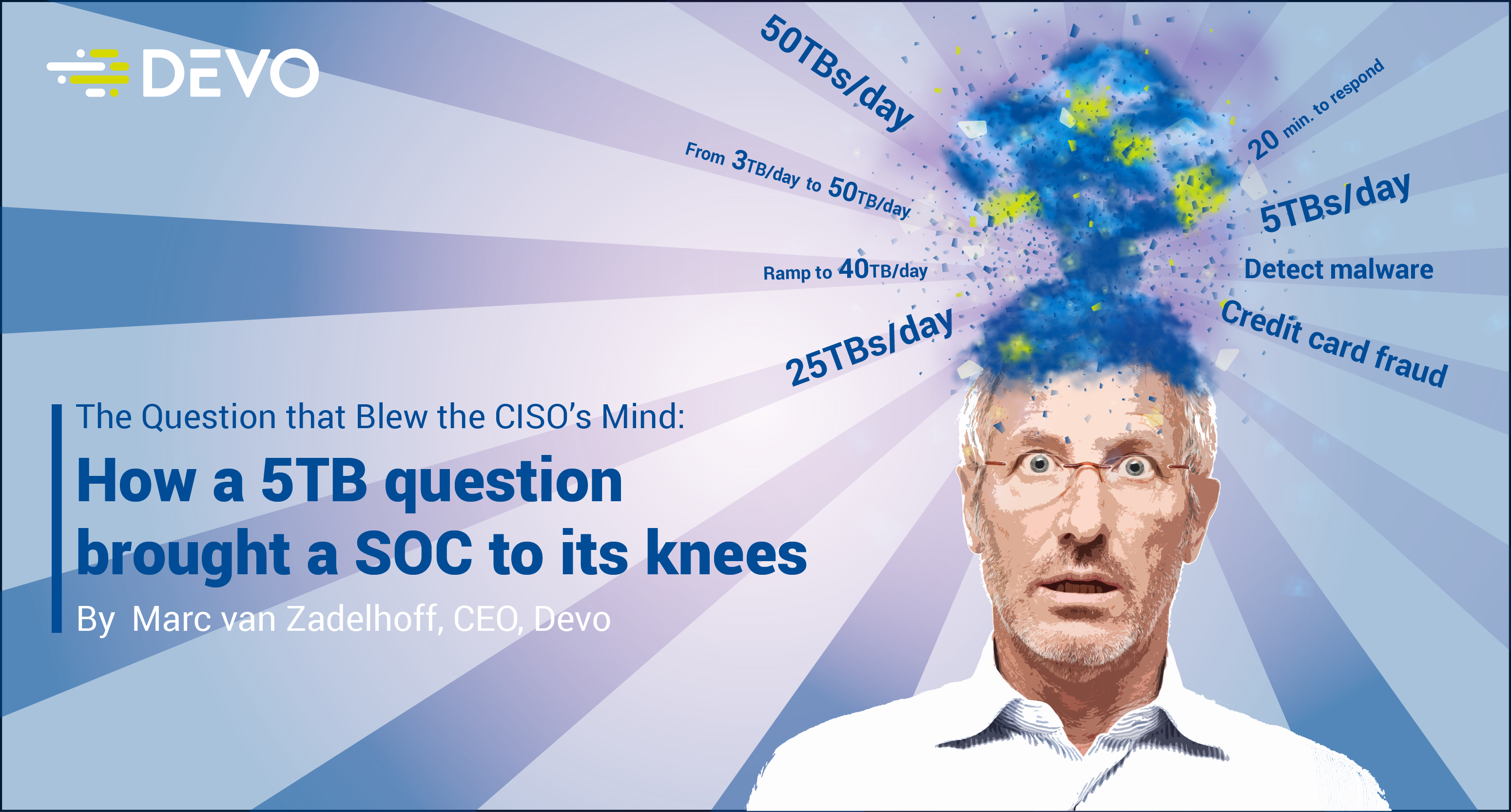 Image for The Question that Blew the CISO's Mind